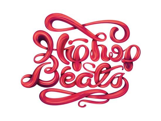 34款国外漂亮的字体设计欣赏