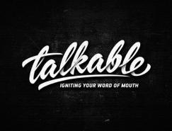 Dalibor Momcilovic创意手写字体logo设计