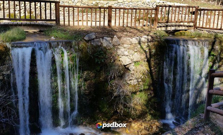 silky effect waterfall in photoshop