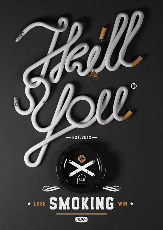 40例国外创意字体设计
