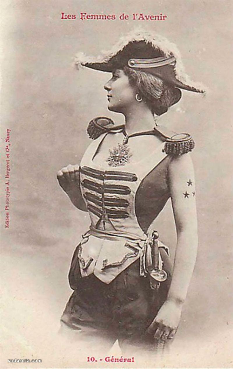 Albert Bergeret 服装设计欣赏