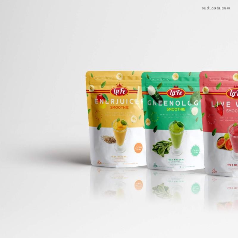 Gustavo Polanco冰激凌包装设计欣赏