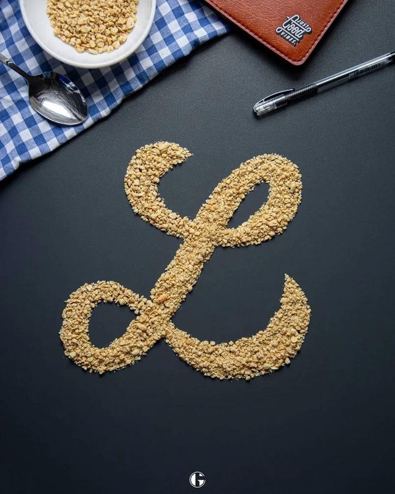 Gabriele Conoscenti创意字体设计