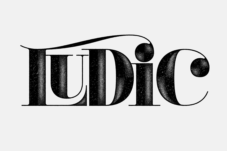 Jude Landry创意英文字体设计