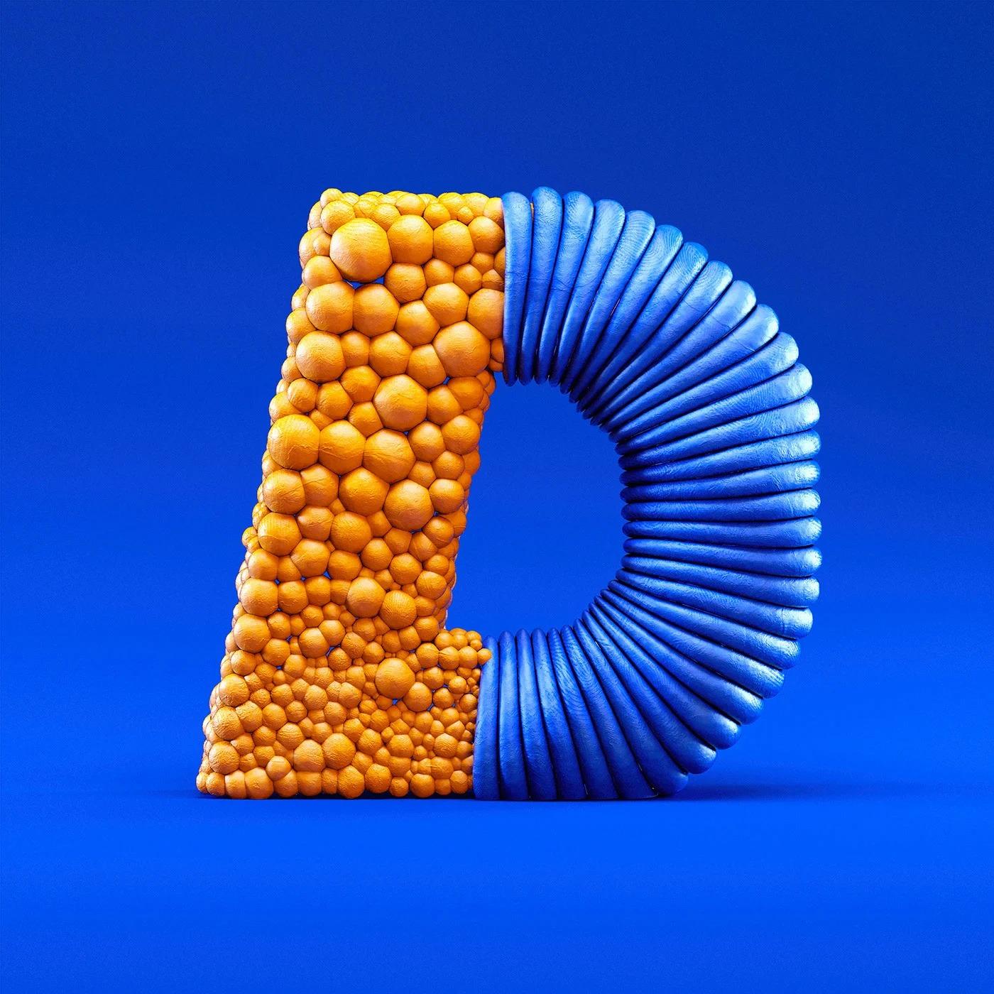 36 Days of Type: Raffaele Micillo创意字母设计