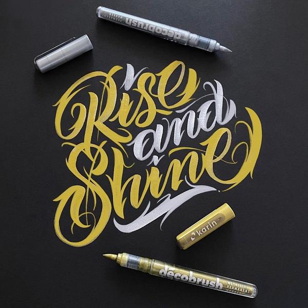 35款带来灵感的国外创意字体设计