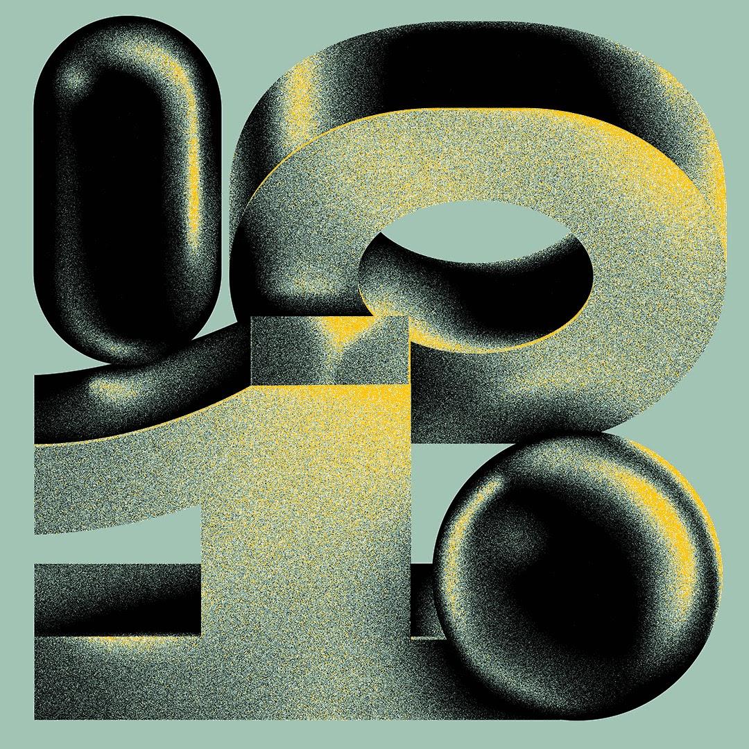 Huston Wilson高质感立体字体设计