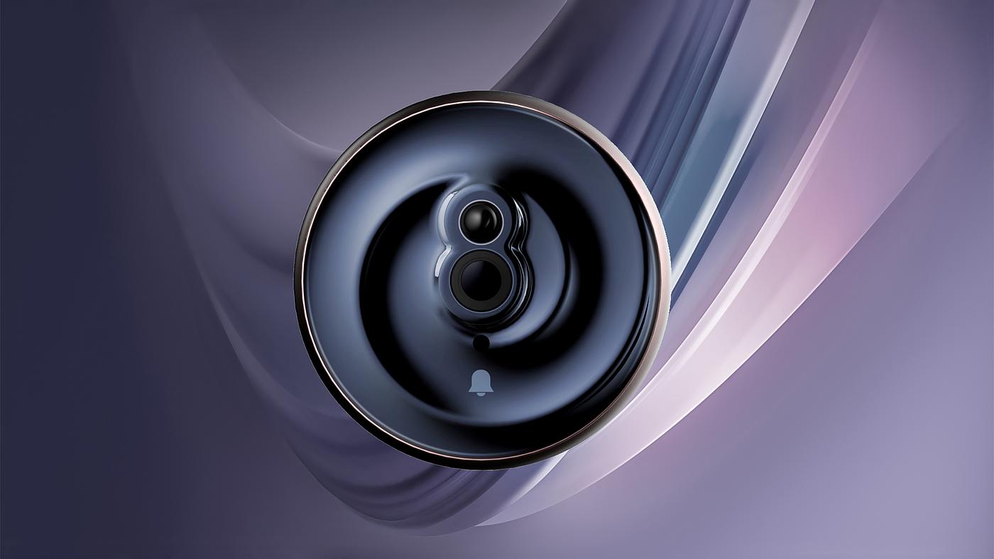 产品设计,工业设计,门铃,智能门铃,