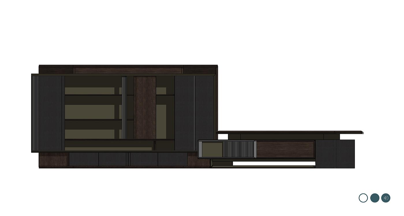 班台,办公家具,德式,现代简约,油漆班台,