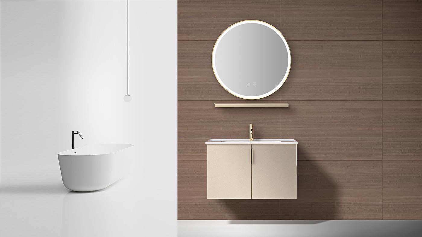 浴室柜;卫浴;家具;简约设计;轻奢,