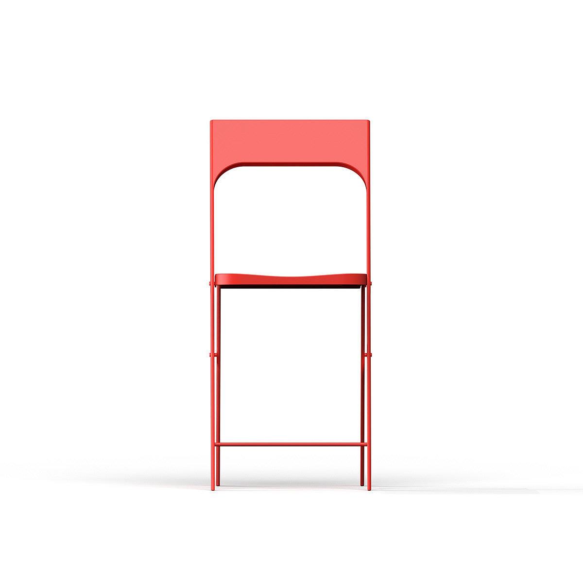 折叠椅,红色,简约,