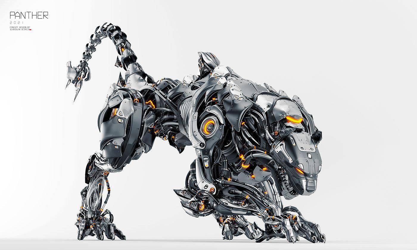 黑豹,模型,Vladislav Ociacia,