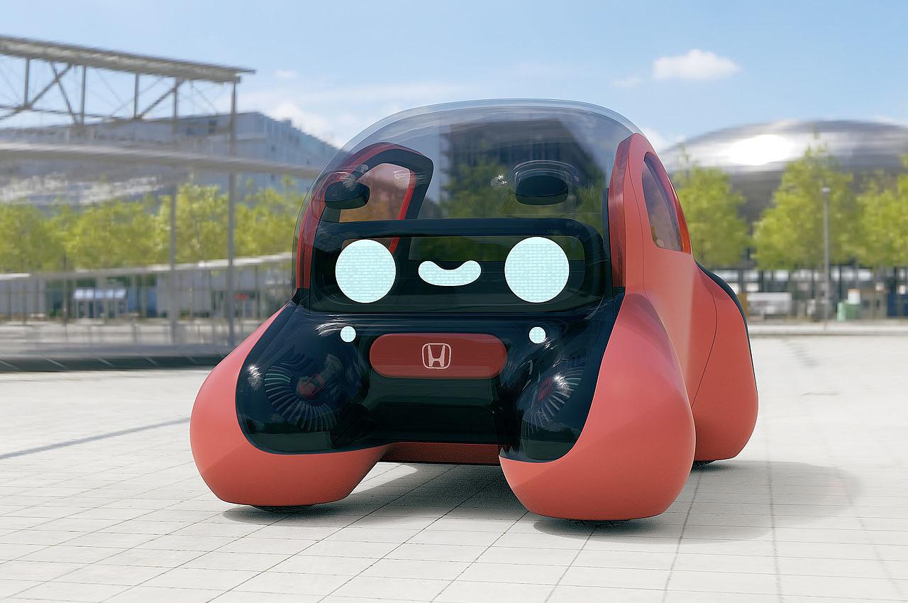 本田2040 NIKO,微型人工智能,汽车,