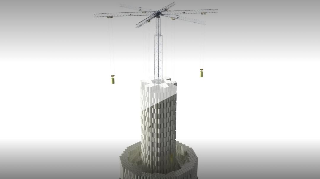 瑞士用水泥块造座塔,颠覆了传统储能方式!